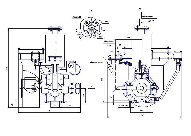ВК-3М2 В и Н устанавливаются на вакуумных автомашинах для транспортировки воды и перевозки нефти, нефтепродуктов автотранспортом