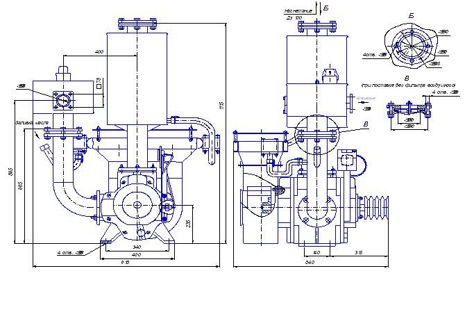ВК-6М2 Ц и Н устанавливаются на автомашинах типа цементовоз для транспортировки цемента и для перевозки нефти, нефтепродуктов автотранспортом