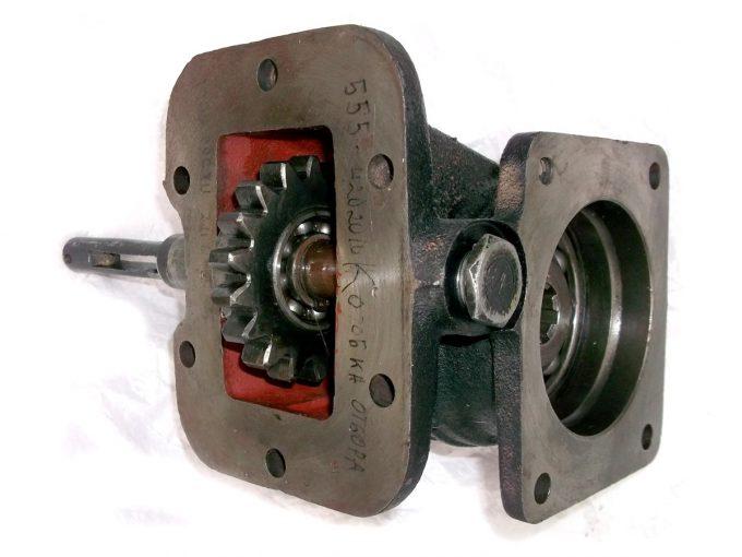 Коробка отбора мощности на ам ЗИЛ под насос НШ (Зил-555)