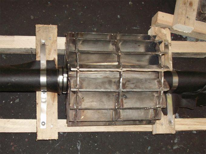 Ротор (колесо сварное) насоса ЖВН-12Н