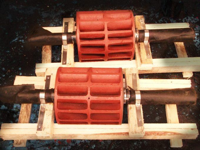 Ротор насоса ВВН1-3 (ВК-3М1) с чугунным колесом без втулок