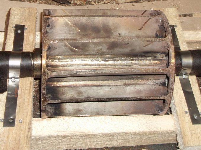 Ротор с нержавеющим валом насоса ВВН-3Н