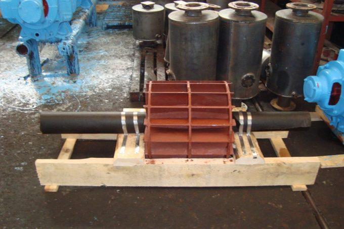 Ротор(колесо стальное) насоса ВВН1-12