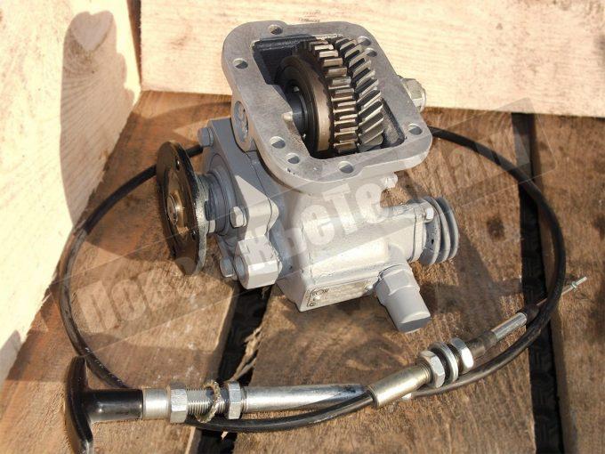 Коробка отбора мощности а/м ГАЗ-3302 (Газель) с фланцем под карданный вал