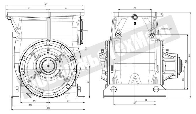 Насос топливный СШН-150/4000 (Аналог насоса Alfons Haar)